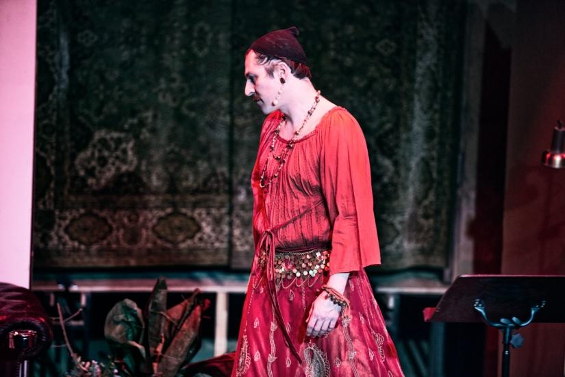 »Wengenroths Autorenklub, Ausgabe 7: William Shakespeare«. Foto: Gianmarco Bresadola.