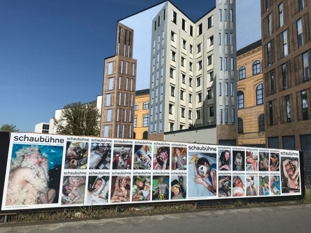 Spielzeitkampagne 2018/2019 der Schaubühne am Lehniner Platz (Berlin). Fotos: Joerg Reichhardt.