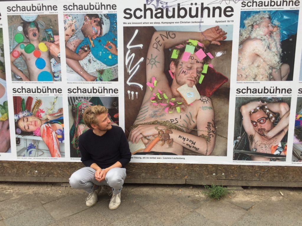 Spielzeitkampagne 2018/2019 der Schaubühne am Lehniner Platz (Berlin). Fotos: Joerg Reichhardt und Luise Müller-Hofstede (von Jule Böwe und Ursina Ladi).
