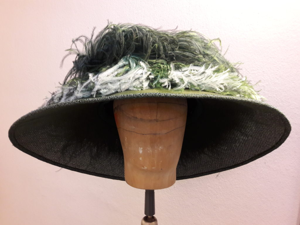 Kopfbedeckung für »Champignol wider Willen«. Foto: Marc Freitag.