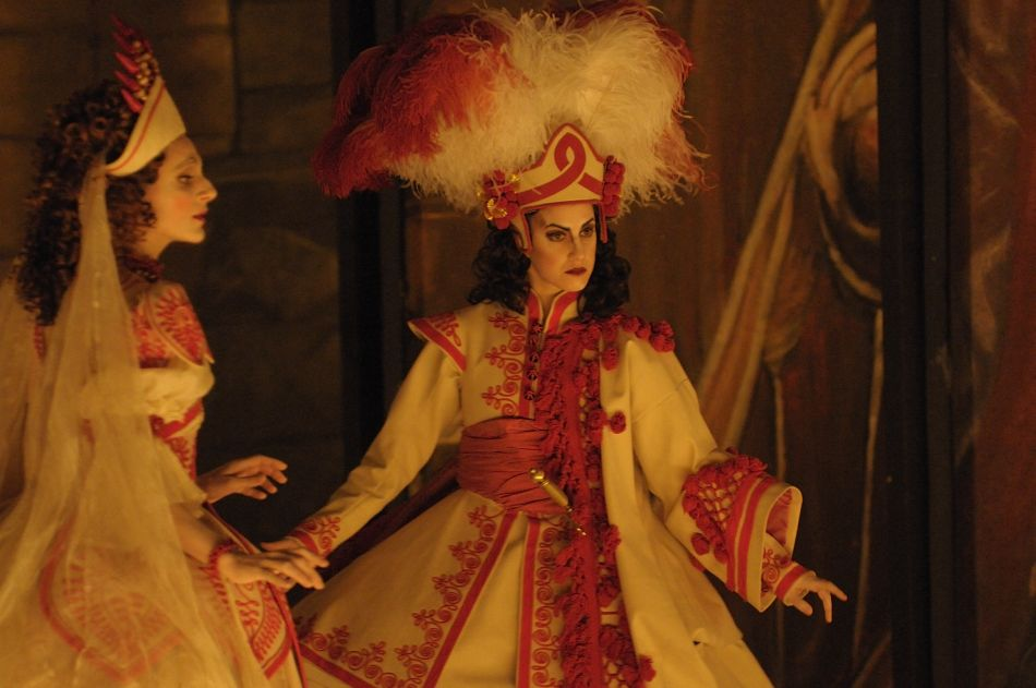 Delphine Galou und Tamara Gura in »Radamisto«. Foto: Jacqueline Krause-Burberg.