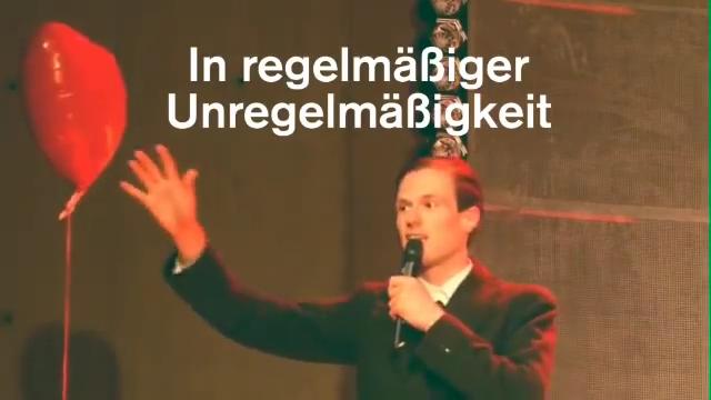 Dagobert in »Wengenroths Autorenklub, Ausgabe 5: Ödön von Horváth«. Video: Schaubühne am Lehniner Platz, Berlin.