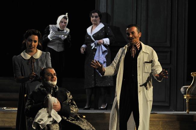 »Il Barbiere di Siviglia«. Foto: Hassan Mahramzadeh.