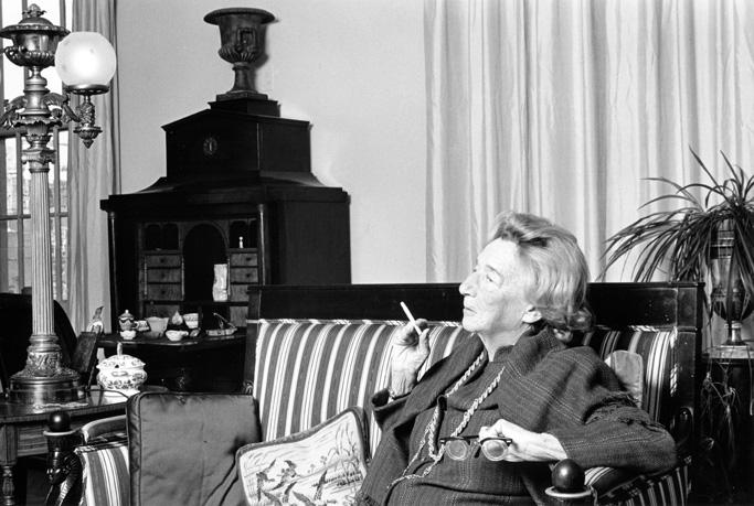 Lillian Hellman. Foto: Lynn Gilbert, 1977.
