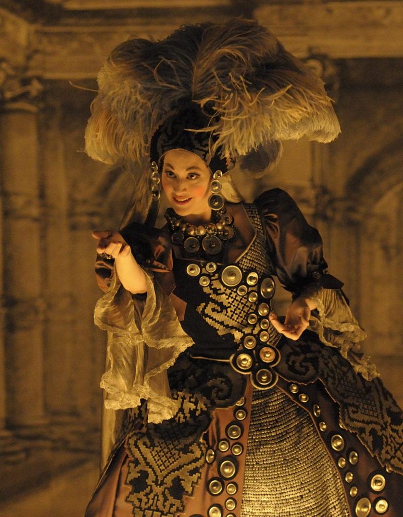 Kirsten Blaise in »Radamisto«. Foto: Jacqueline Krause-Burberg.