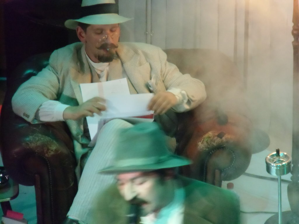 »Wengenroths Autorenklub, Ausgabe 9: Maxim Gorki«. Foto: Marc Freitag.