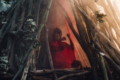 Onejiro Schindler in »Je rêve«. Foto: Lukas Rotter.