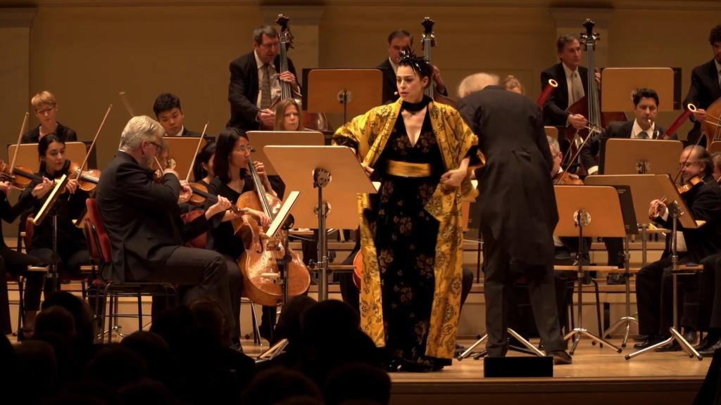 Ruth Rosenfeld in »Medea«. Video-Standbild.