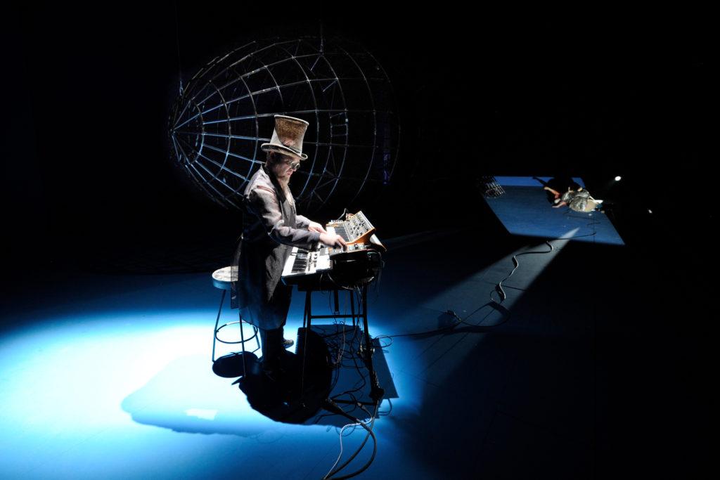 Ingo Günther in »Zeppelin«. Foto: Thomas Aurin.